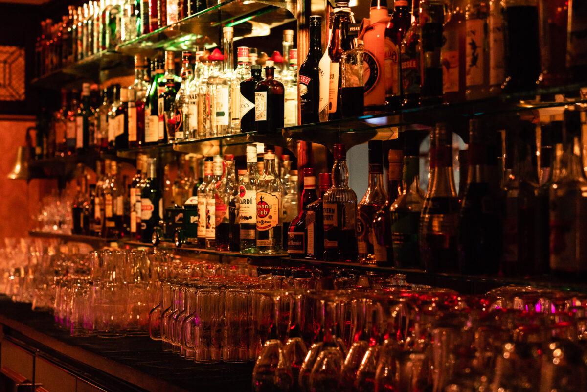 Die orgininal kalifornische Bar im Hotel & Restaurant Seeschloß Lanke