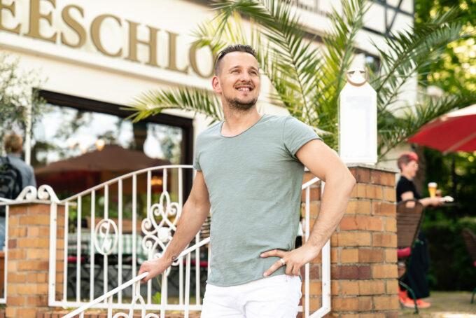 Inhaber Max Zimmler vom Hotel & Restaurant Seeschloß Lanke