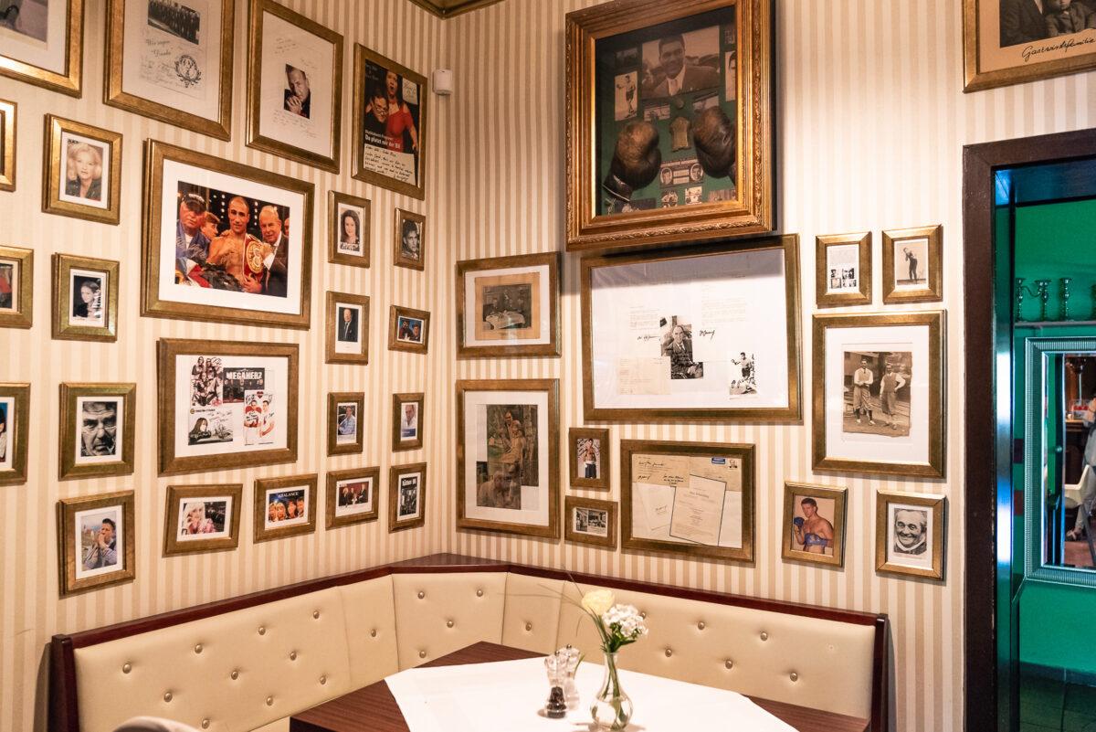Der Gastraum im Hotel & Restaurant Seeschloß Lanke