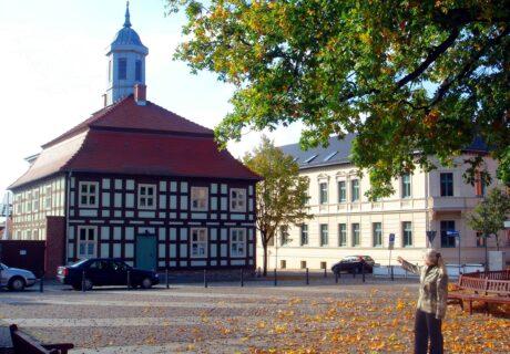 Stadtführung Biesenthal mit Sieglinde Thürling