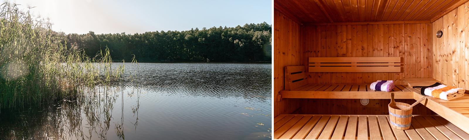 Sauna am See | Wandlitz