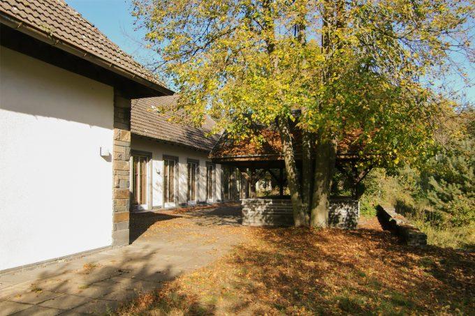 Das Landhaus am Bogensee in Wandlitz, Ortsteil Lanke, im schönen Naturpark Barnim, Barnimer Land, Brandenburg.