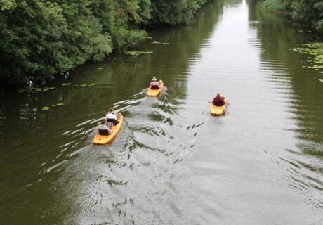 Bootshaus Lotti – Finowkanal Abenteuer beginnen hier